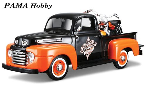 H-D Ford F-1 Pickup + FLH Duo Glide