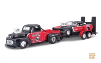 1948 Ford F1 Pickup + 1967 Ford Mustang GT